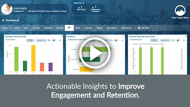 Kronos Workforce Ready HR Video Screenshot
