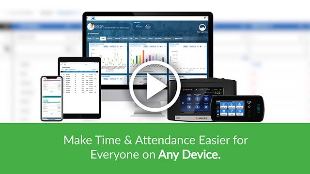 Kronos Workforce Ready Time & Attendance Video Screenshot